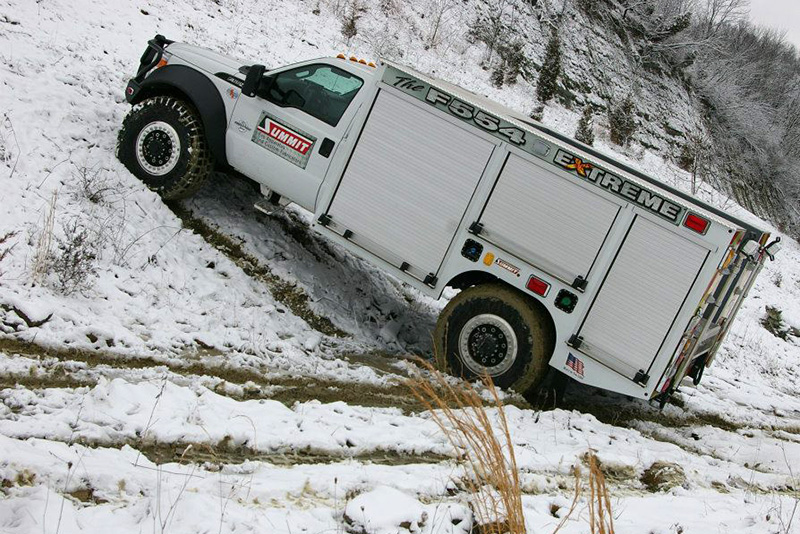 F554 Stage 2 Extreme Brush Truck