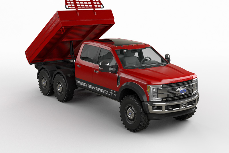 Ford F550 6x6