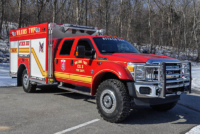 Ford F554 4x4 Quick Attack Mini Pumper